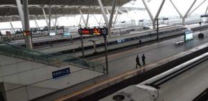 Trem rápido na China